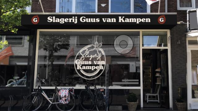 Branding voor Slagerij Guus van Kampen